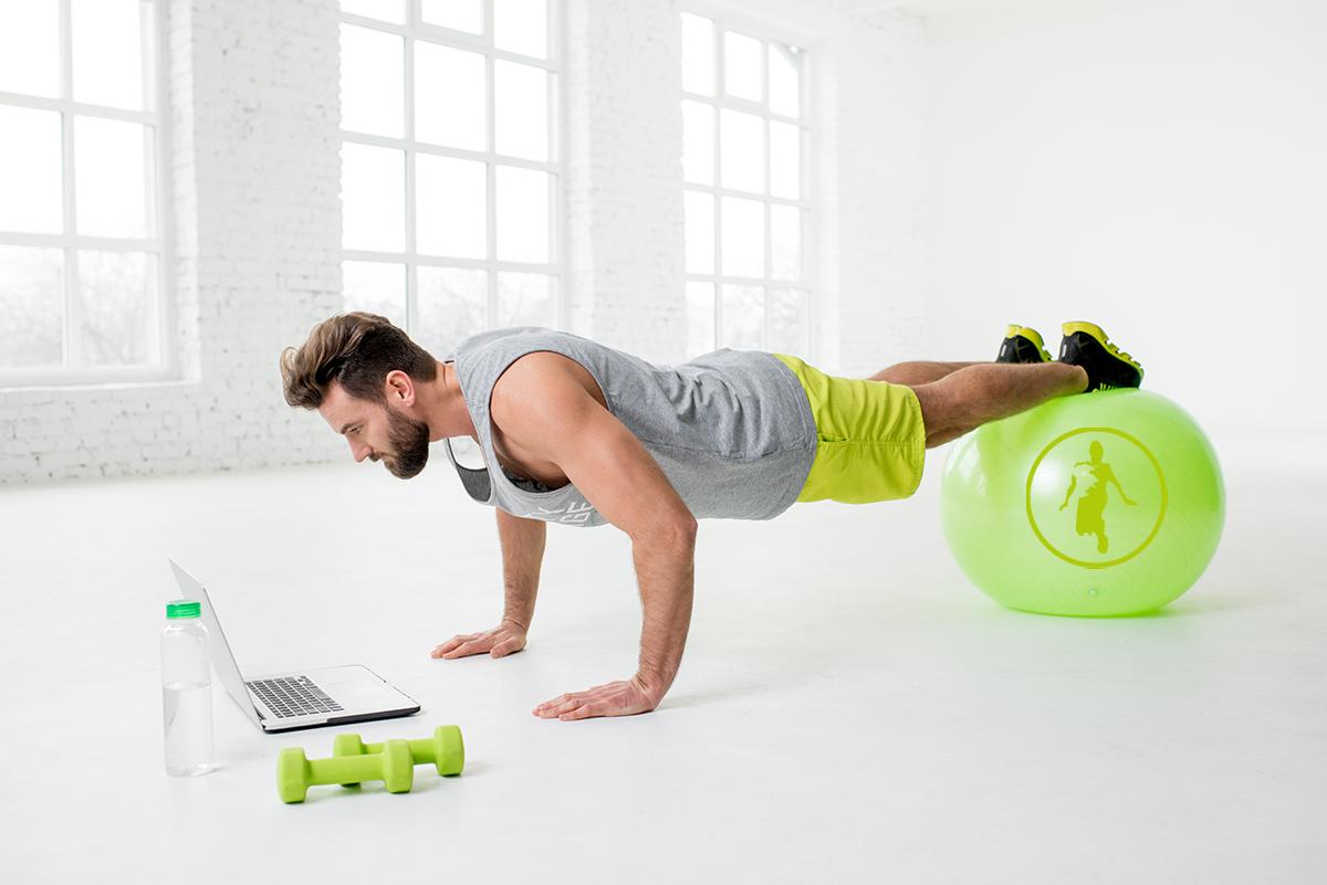 Online zum Fitnesstrainer